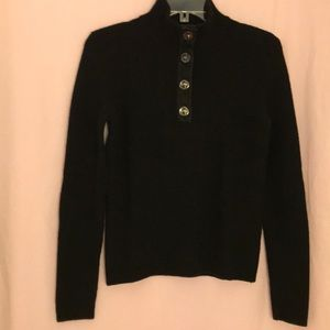 Dana Buchman Knit Black Sweater Size M